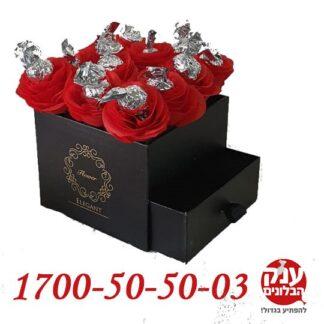 קופסא בפרחים