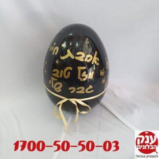 ביצה הפתעה שחור