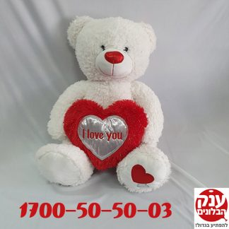דובי אהבה I LOVE YOU